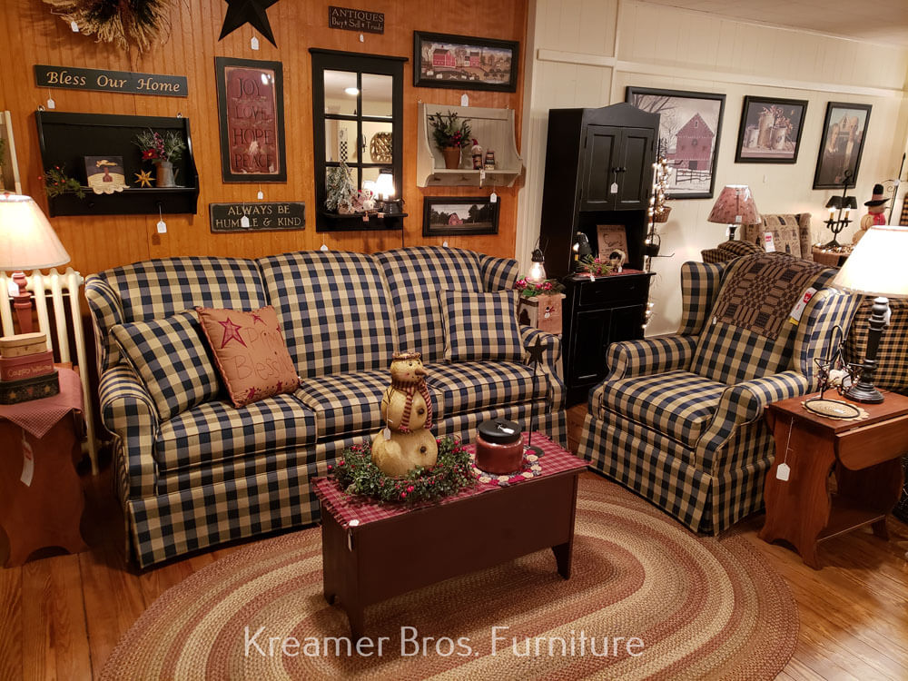 Kreamer Brothers Furniture, Country Living Room Furniture