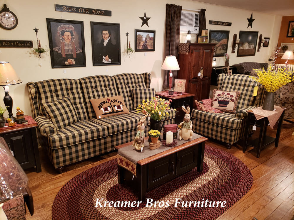 Kreamer Brothers Furniture, Country Primitive Furniture Pennsylvania